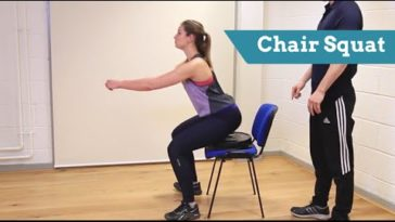chair exercises for legs